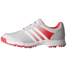 Adidas Women's Tech Response Golf Shoes Clear Grey/Pink ~ Size 6
