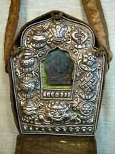 Nepal -big tibetan prayer box ghau - portable altar - altare - autel - Manjushri