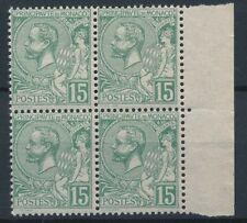 [51140] Monaco 1920 good block of 4 MNH Very Fine stamps