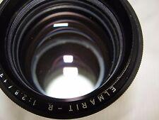 Rare-Near Mint. Leica Leitz Wetzlar Elmarit-R 135mm F:2.8 Lens Made In Germany.