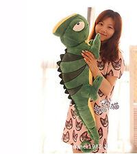 110cm Chameleon Lizard Big Giant Large Stuffed Animals Plush Toy Doll Pillow