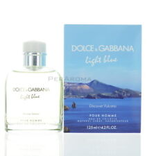 Light Blue Discover Vulcano By Dolce and Gabbana For Men Eau De Parfum 4.2 Oz...