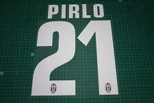 Juventus 12/13 #21 PIRLO Awaykit Nameset Printing