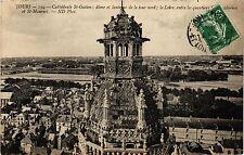 CPA  Tours - Cathádrale St-Gatien dome et lanterne de la tour nord ....(298524)