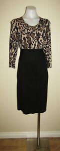 Jane lamerton designer size 14, 3/4 sleeved work office evening dinner dress