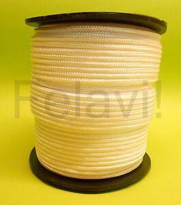 Nylonseil 5 mm (€0.68/m-€0.33/m)  Polyamidseil Perlonseil weiß Seil Tau NEU!