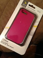 NEW SPRINT HARD SKIN CASE FORM-FIT SLIM COVER FOR APPLE iPHONE 5c 2 CASES