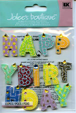 "Jolee's Boutique ""HAPPY BIRTHDAY "" Dimensional Scrapbooking Sticker - AA5"