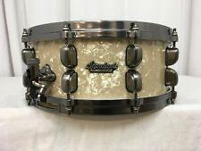 "Tama Starclassic Maple 14"" Diameter X 5.5"" Deep Snare Drum/Vintage Marine Pearl"