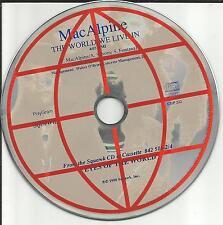 Tony MACALPINE Mac Alpine The world We live in 1990 USA PROMO DJ CD single MINT