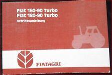 Fiat Agri Schlepper 160-90 turbo,180-90 turbo Betriebsanleitung