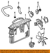 Jeep CHRYSLER OEM Grand Cherokee-Engine Cooling Radiator Fan Clutch 52027823