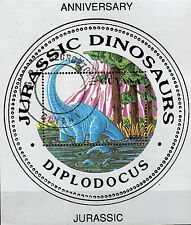 GUYANA  Animaux préhistoriques :le dinosaure DIPLODOCUS C165