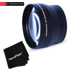 58mm 2X Telephoto Lens Attachment f/ CANON EOS 1200D 1100D 100D 760D 750D