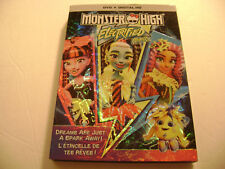 Monster High: Electrified / Électrisant (DVD, 2017) Universal, Mattel
