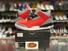 Air Jordan III 3 Retro SE Unite size 8.5 VNDS VTG vintage OG rare used NBA RED