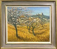 ALAN COTTON - ORIGINAL OIL PAINTING - Cherry Orchard, Provence