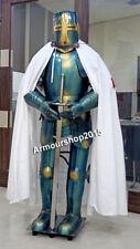 Medieval Knight Suit Of Templar Office Decorative Armor Combat Full Body Armour