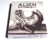 ALIEN ANTHOLOGY BLU-RAY BOXSET H.R. GIGER PREMIUM EDITION IMPORT NEW RARE!!