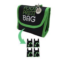Footprint Bags Reusable bags  4 Bag Pack Green