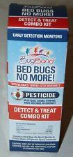 NEW BugBand Bed Bugs No More Detect Treat Combo Kit Pesticide Kills Eggs Larvae
