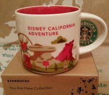 Starbucks Coffee Mug/Tasse/Becher DISNEY CALIFORNIA ADVENTURE You Are Here, NEU!