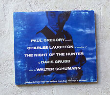 "CD AUDIO  /CHARLES LAUGHTON AND WALTER SCHUMANN ""THE NIGHT OF THE HUNTER"""