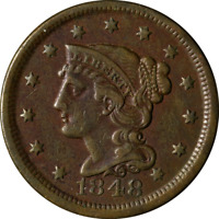 1848 Large Cent Great Deals From The Executive Coin Company