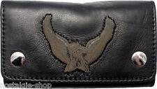 Biker Wallet Chain Geldbörse 3D Adler Kette best Naked Leather Rockabilly Eagle