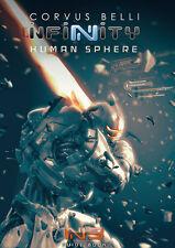 Corvus Belli Infinity BNIB Human Sphere N3 Book 289403