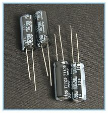 10pcs 47uF 100V Rubycon PX  100V47uF Aluminum Electrolytic Capacitor 8x11.5mm