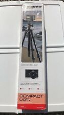 Manfrotto MKCOMPACTLT-BK Compact Light Tripod (Black) BIN GR8 DEAL 4 DADS&GRADS