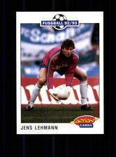 Jens Lehmann  FC Schalke 04  Panini Action Card 1992-93 + A 183116