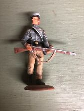 Confederate soldier at Battle of Gettysburg 54mm Tin Painted Toy Soldier