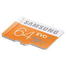 GENUINE Samsung 64GB Evo micro SD SDXC 48MB/s Class10 MEMORY CARD LG G5, S7/S8