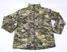 Under Armour UA Grit Jacket Soft Shell Fleece Lined LARGE Forest Camo 1320252