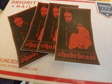 ShadeBeast Cliff Burton stickers (4)