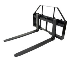 """Titan Attachments 48"""" Pallet Fork Attachment Tractor Forks Kubota Holland Skid Steer Quick Tach"""