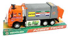 Camion poubelle de recyclage des déchets 28 cm jouet, jeux pas cher Neuf