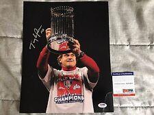 TONY LARUSSA Signed Autographed 11x14 Photo PSA/DNA Cardinals World Series