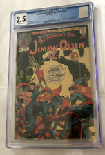 Superman's Pal Jimmy Olsen #135 DC Comics CGC 2.5 OW pages Darkseid cameo 1971