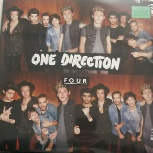 ONE DIRECTION Four DOUBLE LP VINYL 2014 NEW SEALED SHIPS NOW