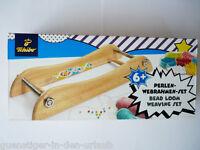 TCM Tchibo Perlen Webrahmen Set Holzwebrahmen NEU