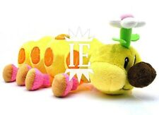 SUPER MARIO BROS. TORCIBRUCO PELUCHE plush wiggler caterpillars world bruco new