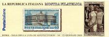 2003 L23 La Repubblica Italiana nei Francobolli - Montecitorio - Libretto