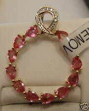 NEW 1.5cts Pink Ayanna Spinel Pendant 14k YG