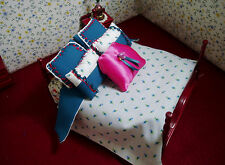 6 Pc Bedding Set -  for 1:12 Scale Dollhouse