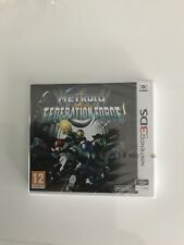 Metroid Prime Federation Force Nintendo 3ds New Sealed