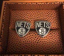 Brooklyn Nets Cufflinks - NBA Fast FREE Shipping