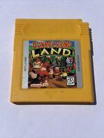 Donkey Kong Land (Nintendo GameBoy, 1995) Authentic Tested Working Saves